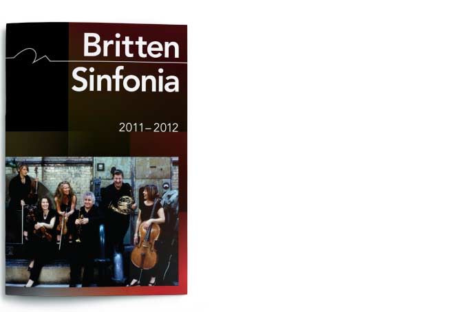 Britten Sinfonia - Season brochure cover