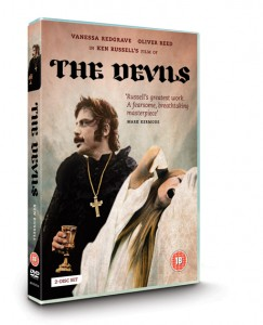 We have just completed work on the packaging of the BFI DVD release of Ken Russell's legendary film The Devils - a  profound commentary on religious hysteria, political persecution and the corrupt marriage of church and state.
